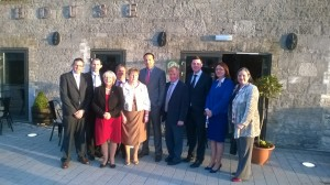 Minister Varadkar launches Fine Gael's Offaly local election team.