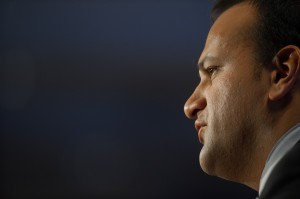 Minister Varadkar at the Fine Gael National Conference in Limerick.