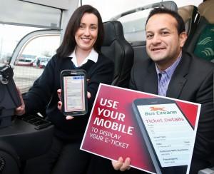Bus Eireann e-Ticket