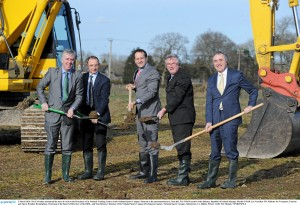 FAI Academy Sod Turning at the National Sports Campus