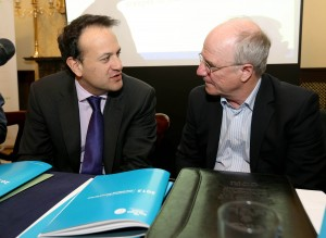Leo Varadkar, T.D. and Dr. Hans Geyer 9/4/2014
