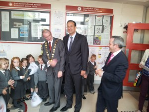 Minister Varadkar and Mayor of Fingal, Cllr Kieran Dennison.