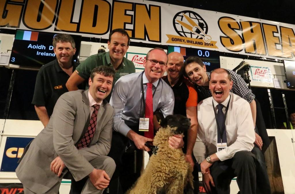 Simon Harris campaigning at World Sheep Shearing championships-1