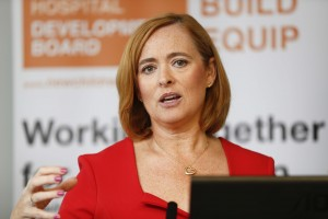 Eilísh Hardiman, CEO of the Children's Hospital.