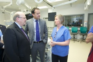 Critical Care Block at the University Hospital, Limerick opening