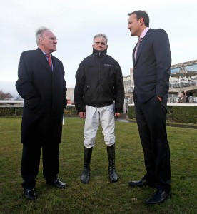 Dr. Adrian McGoldrick, Ruby Walsh and Leo Varadkar TD 28/2/2015