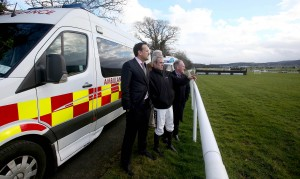 Leo Varadkar TD, Ruby Walsh and Dr. Adrian McGoldrick 28/2/2015