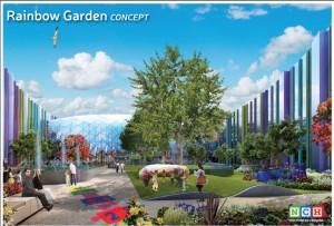 Rainbow Garden Concept