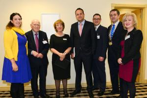 Minister, Board of Management, Bernadette and dep.lord mayor