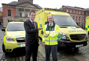 NO FEE 11 new ambulances launch