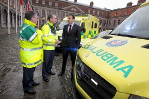 NO FEE 4 new ambulances launch
