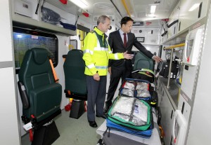 NO FEE 7 new ambulances launch